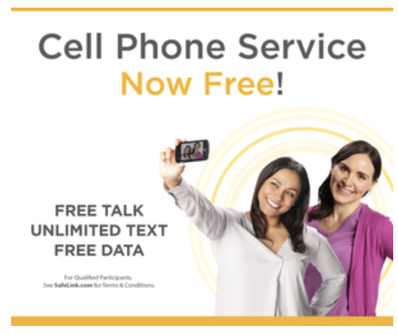 SafeLink program: FREE minutes, text & data