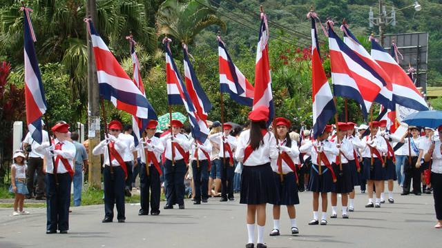 Costa Rica's Independence Day Celebration