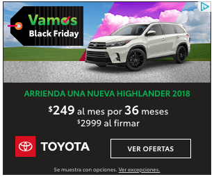 Hispanic Car Buyer focused Ad
